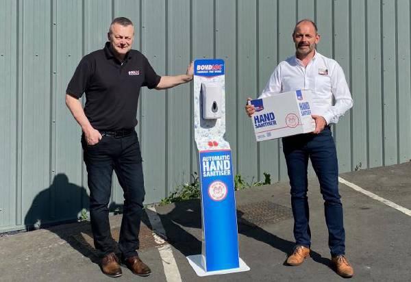 Coronavirus: Worcestershire based adhesive manufacturer Bondloc switches 50% production to Hand Sanitiser