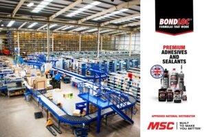 Bondloc UK announces national distribution agreement with MSC